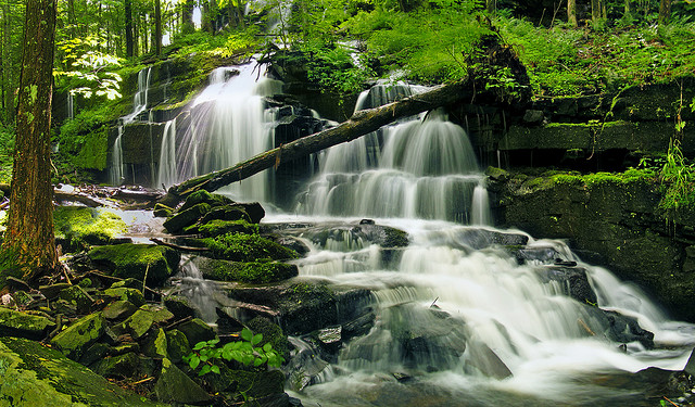 7) Stairway Falls, Pike County