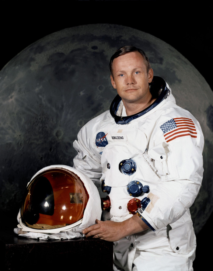 1) When the world realized man could in fact walk on the moon.