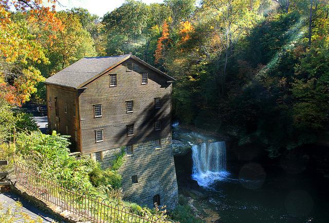6) Lanternman's Falls