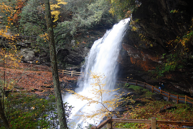 14. Dry Falls, Nantahala National Park