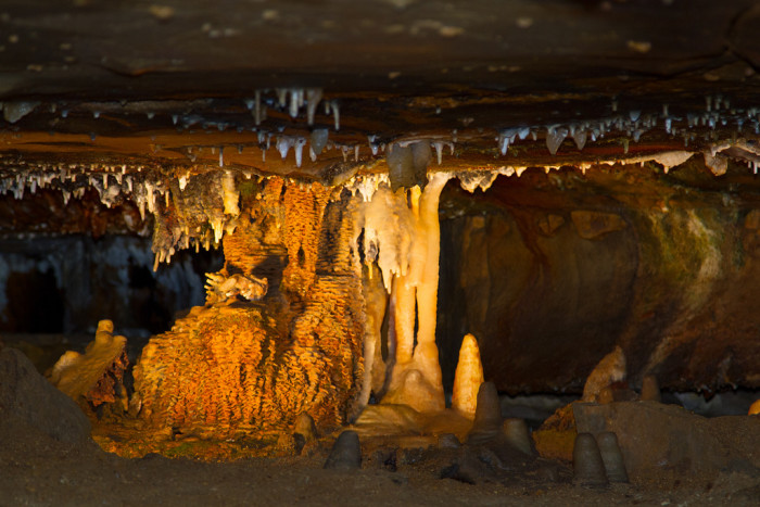 14) Ohio Caverns: What state is complete without some genuine, creepy caverns?