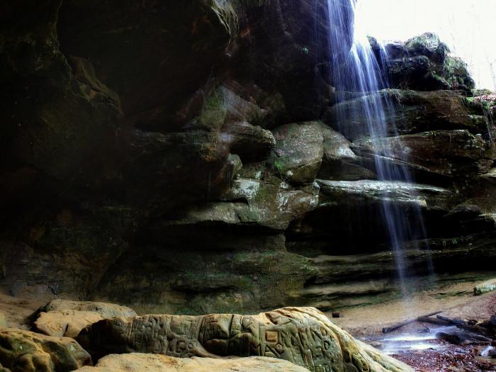 16) Big (and Little) Lyons Falls
