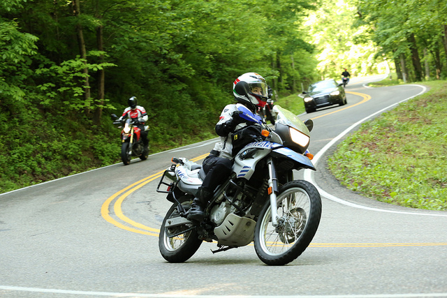 9. The infamous 'Dragon' at Deals Gap is one of the most popular roads for motorcyclist because of it's sharp turns and breathtaking views. Take a drive, if you dare!