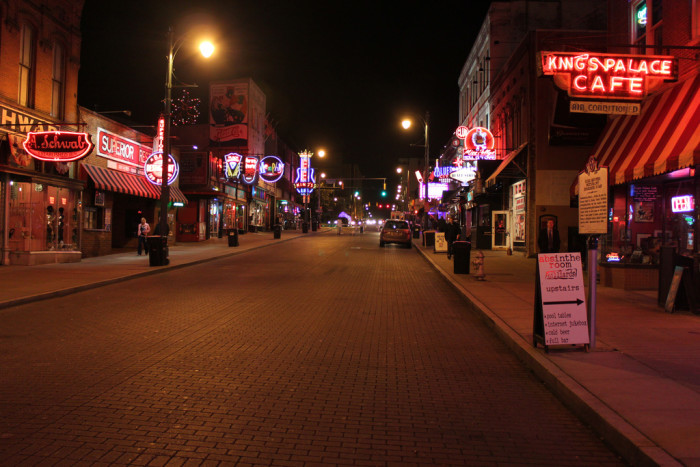 5) Walk down Beale Street for the true feel of Memphis and hum that classic Marc Cohn tune as you go.