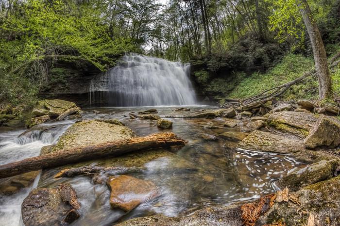 "6. ""Big"" Stoney Creek Falls, Scott County"
