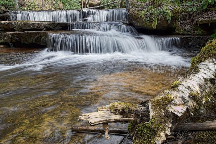 12. Big Tumbling Creek Falls, Clinch Mountain