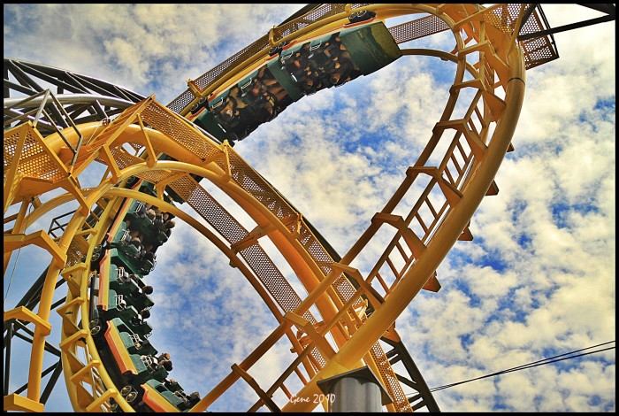14. Get a thrill with rides, rides and more rides at Virginia's theme parks.