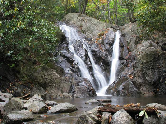 7. Cabin Creek Trail Falls, Grayson Highlands State Park, Mouth of Wilson