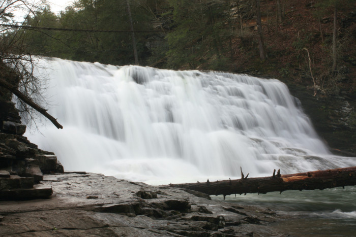 4)Cane Creek Cascades is in Fall Creek Falls state park ,  located just one easy hike up Cane Creek.