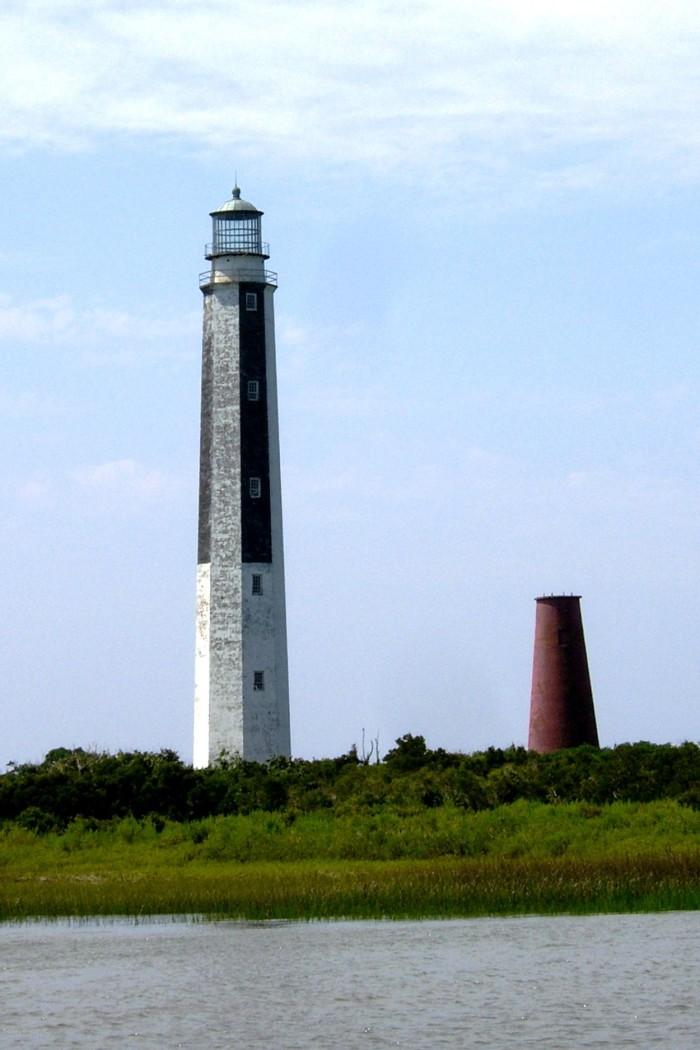 7 & 8. Cape Romain Lighthouses (Lighthouse Island)