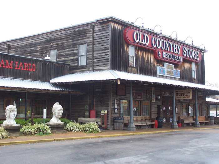 1) 1890's Ice Cream Parlor & Fudge Shoppe is located in Casey Jones Village, and even though it originally opened in 1961, it boasts a neat soda fountain from the nineteenth century. Butter pecan is the most popular amongst the locals, you can choose from scads of options with milkshakes and malts on the menu.