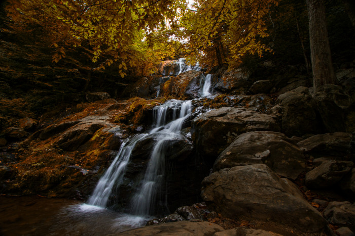 8. Dark Hollow Falls, Stanley