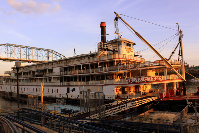 6) The Delta Queen is currently docked in Chattanooga and has since been converted into a hotel, so come spend the night if you don't mind ghostly company. There are legends of crotchety old Mary B. Greene appearing to keep guests from a visit to the bar, as well as guests that simply enjoyed their stay on the Queen too much too check out. Don't be worried about the stairs that lead to nowhere or the shadows in the bedroom – they're just a part of what makes the Delta Queen so magnificently eerie.