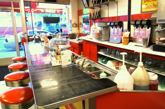 Elliston Inside Soda Shop