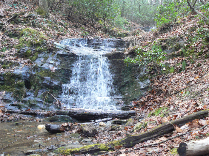 17. Falls at Fairystone State Park, Stuart