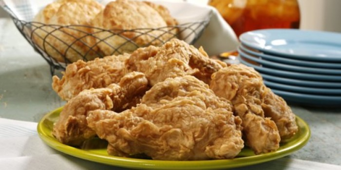 13.  Southern Fried Chicken