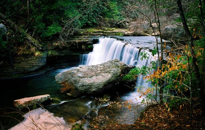 10)Greeter Falls and trail is in Altamont, and the 1.8 mile loop is a quick and easy hike. Beware those crazy kids, though – the site is known for cliff jumpers.