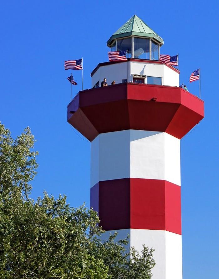 Harbour Town Lighthouse Hilton Head Sc