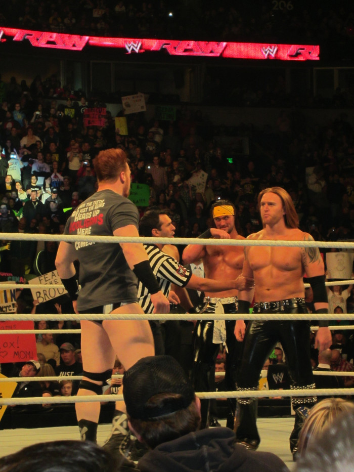 8) Heath Slater, the one in those sweet, shiny leather pants, was born in Pineville, West Virginia.