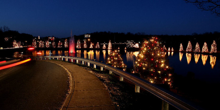 14. Speaking of Christmas, you've tirelessly waited hours in your car to witness Christmas Lights