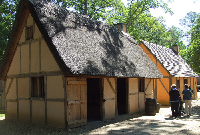 1. Take a trip back in time at the Jamestown Settlement.