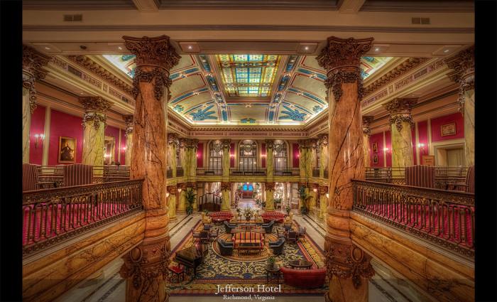 8) The Jefferson Hotel.