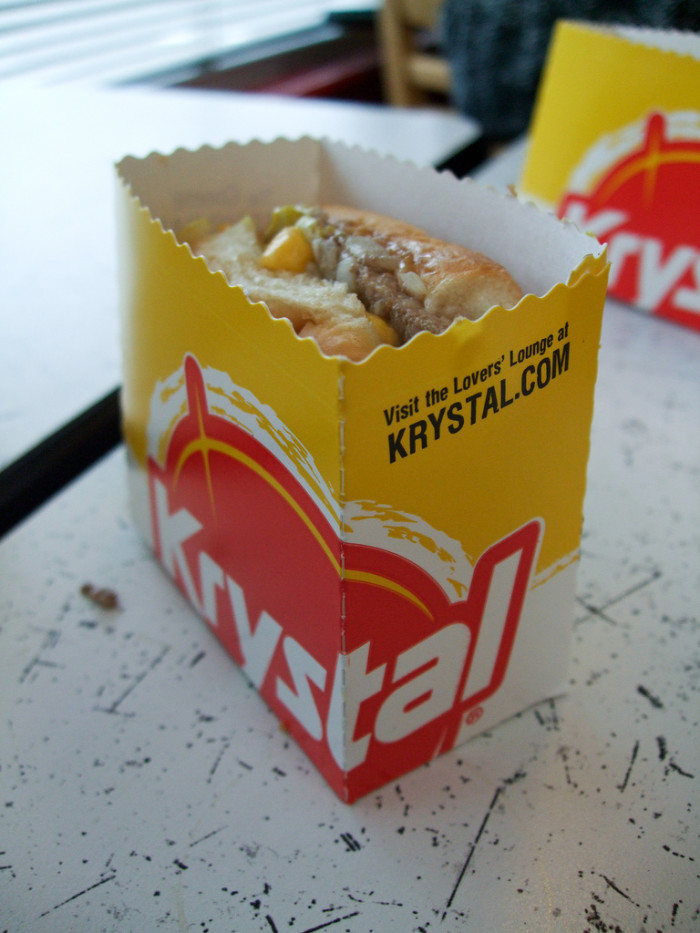 6) Chattanooga is the home to the first Krystal Hamburger restaurant, born in response to the painful reality of the Great Depression. It is now known as the oldest hamburger chain in the South.