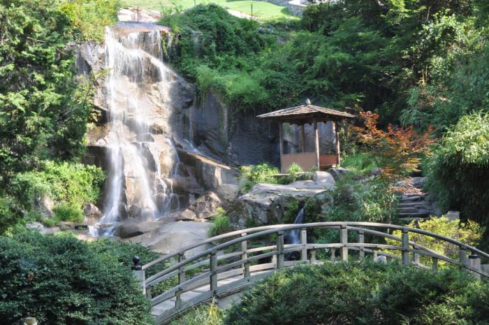 18. Japanese Garden Falls at Maymont Park, Richmond