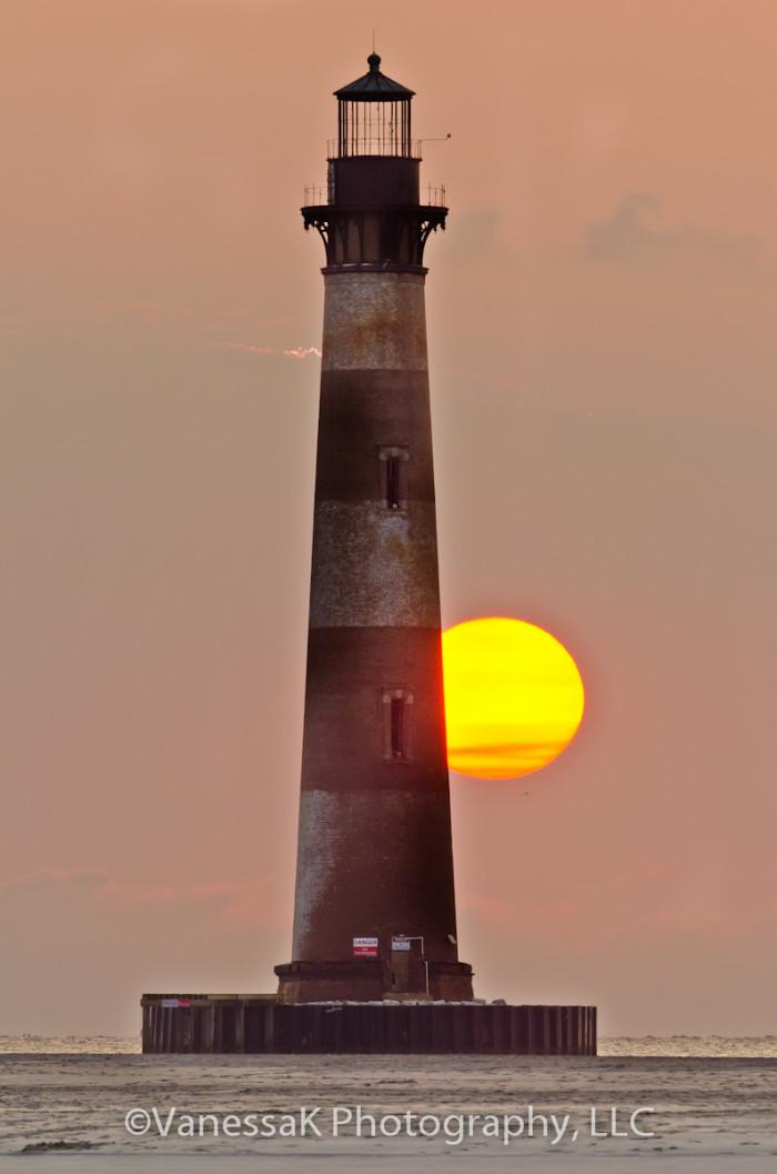 1. Morris Island Lighthouse (Folly Beach)
