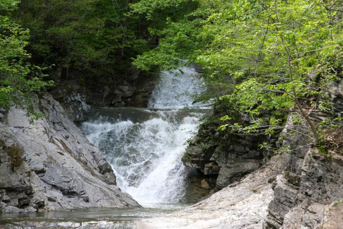 10. Natural Bridge Falls, Natural Bridge