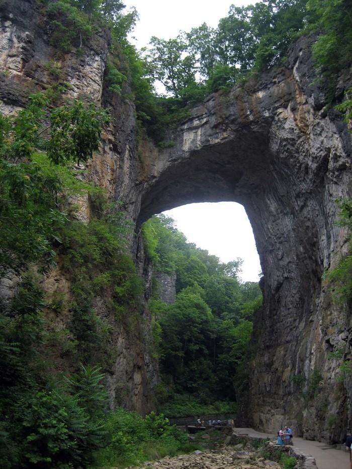 1) Natural Bridge.