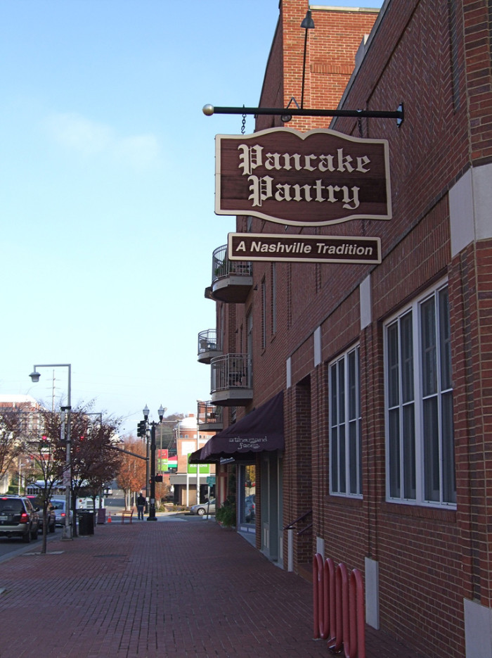 14) Taylor Swift is a well-known fan of Pancake Pantry, a Tennessee based restaurant that first opened it's doors in 1961. With lines that wrap around the building with tourists during the mid-morning, you'll want to beat the crowds by sneaking in for sweet potato pancakes before seven. Quick hint? That's when all the locals go.
