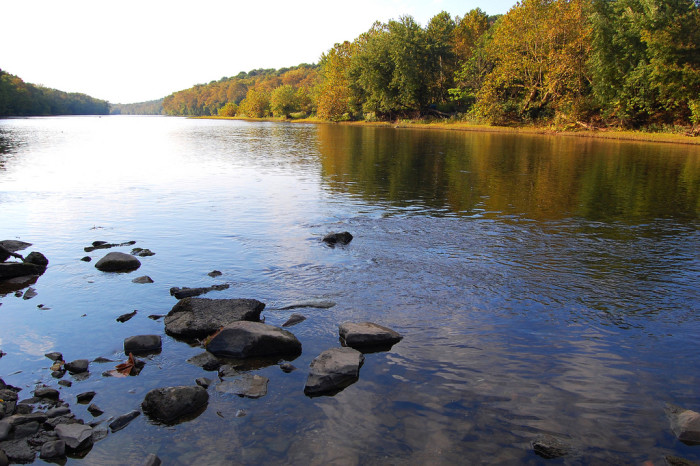 13) The Potomac River, which is one of the largest rivers in America, is roughly 405 miles long. It only flows through the Eastern Panhandle of West Virginia.