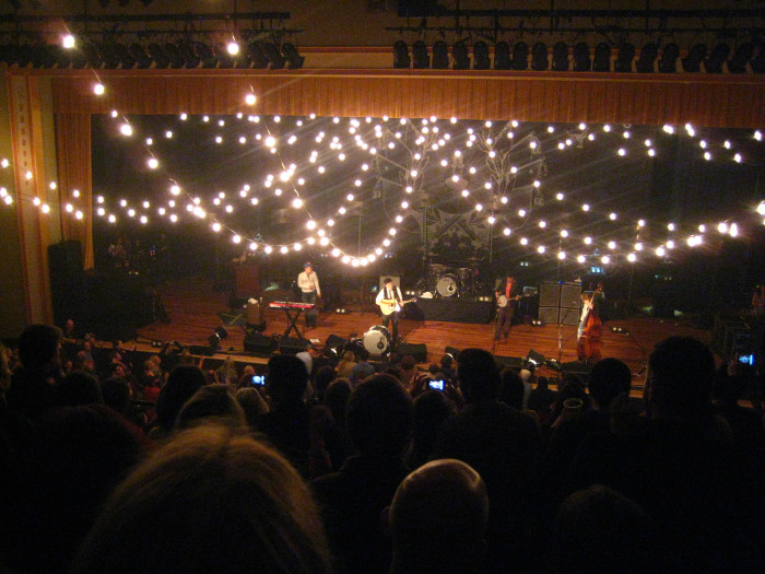 "The Ryman Auditorium, known as the, ""Mother Church  of Country Music,"" is a place of dreams and perfect for your first kiss. Grab tickets to a show and spend a romantic evening in a place of legends."