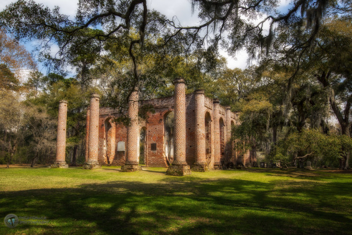 14) Old Sheldon Church of Yemasee, SC: Built between 1745-1755 and once known as Prince William Parrish Church, these awe inspiring ruins should be on everyone's must see list.