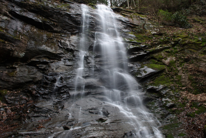 12)Sill Branch Falls is an Appalachian favorite stuck in the heart of the Cherokee National Forest. The falls are forty feet high and breathtakingly beautiful all year 'round.