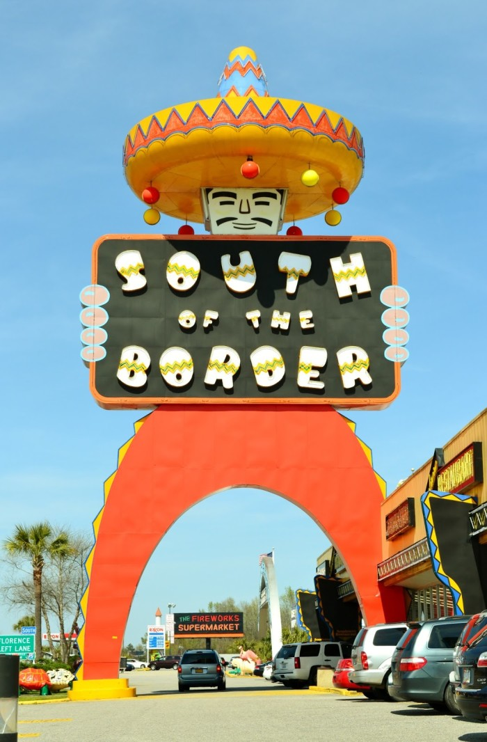 Find Pedro at South of the Border!