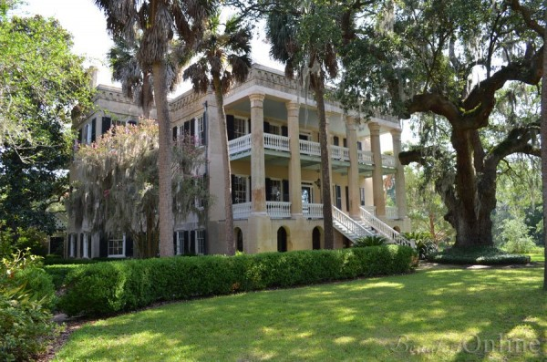"6) The ""Castle"" of Beaufort, SC: Although, not a 'true' castle, I thought this magnificent mansion would be of note in this list. It was built in 1860 and got its name,  The Castle, due to the moat-like effect of the Beaufort River that runs beside the property."