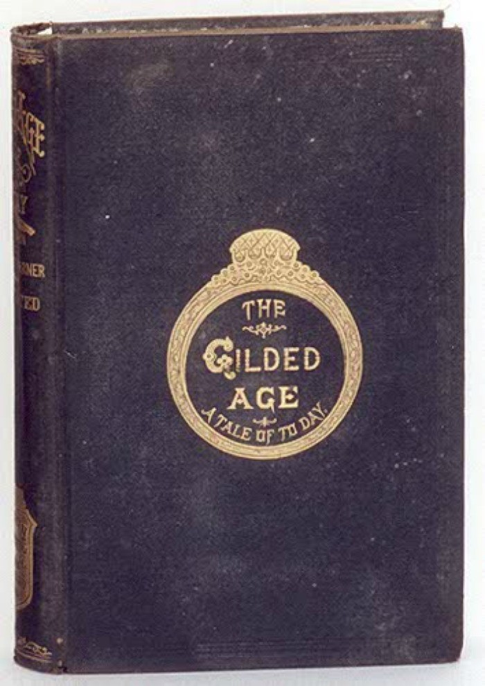 "9) Twain pens a fantastic piece of solid literature with, ""The Gilded Age,"" a Tennessee based book that satirizes United States political figures and agenda."