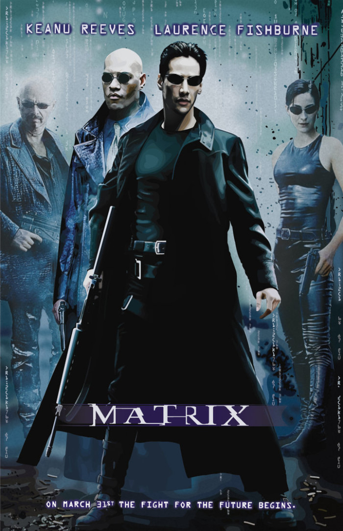 """The Nashville skyline is used as the darkened backdrop of the opening chase sequence in, """"The Matrix."""""""