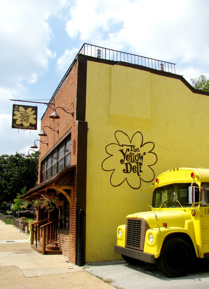 "6) The Chattanooga-based Yellow Deli is a delicious restaurant that boasts a particular edge: it's owned by a religious group known as, ""The Twelve Tribes."" Come expecting a sandwich and quite the experience."