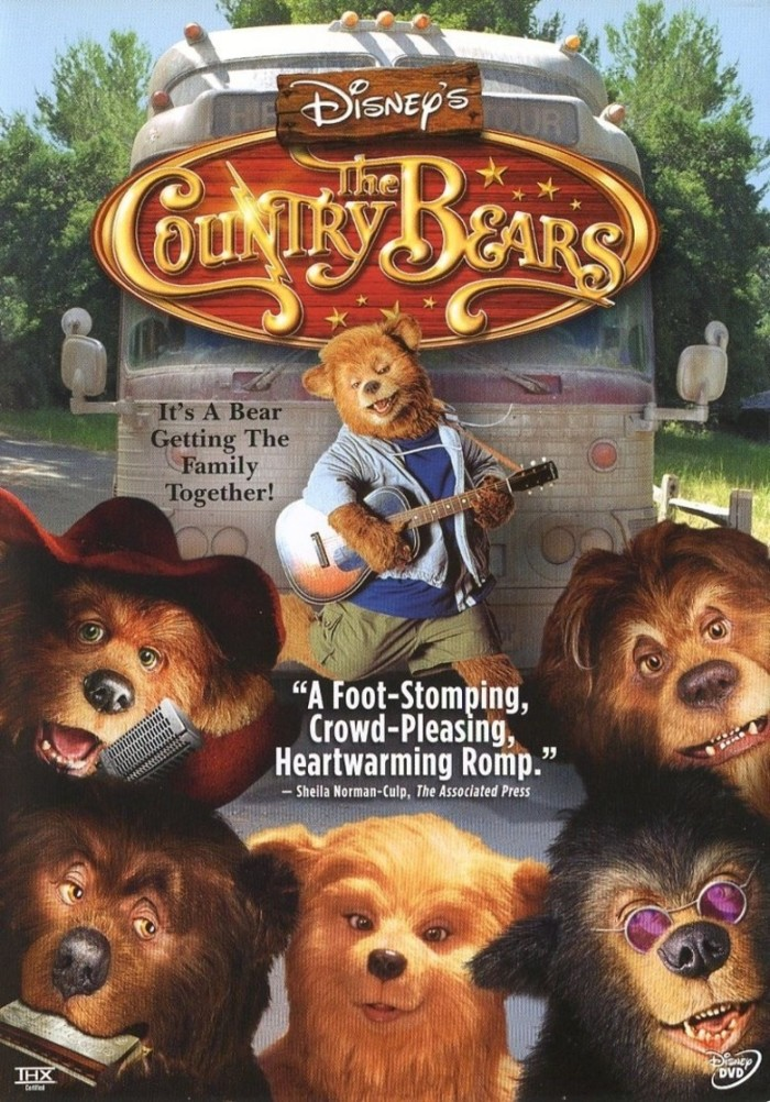 """A majority of the fun Disney film, """"The Country Bears,"""" was shot in both Franklin and Nashville, TN."""