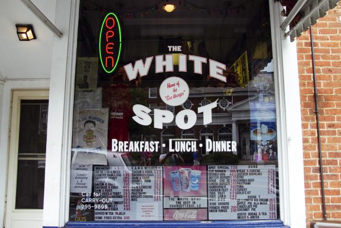 19. The White Spot, Charlottesville