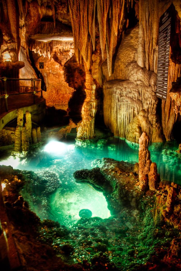 13) Luray Caverns Wishing Well.