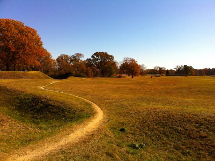 14) Yorktown Battlefield.