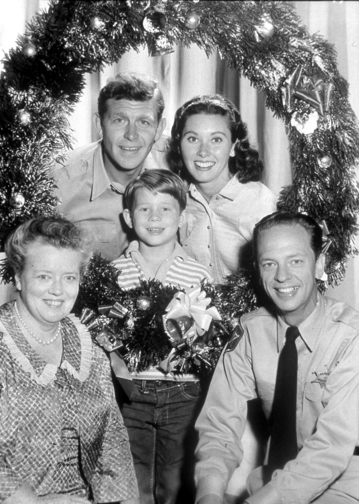 13. It's not Christmas unless you watch the Andy Griffith Christmas Episode