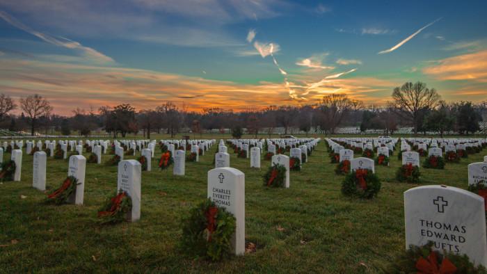3) Arlington National Cemetery.