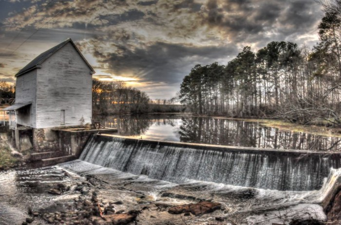 8. The Atkinson Mill in Selma will take you back in time, it has been in continuous operation for more than 250 years.