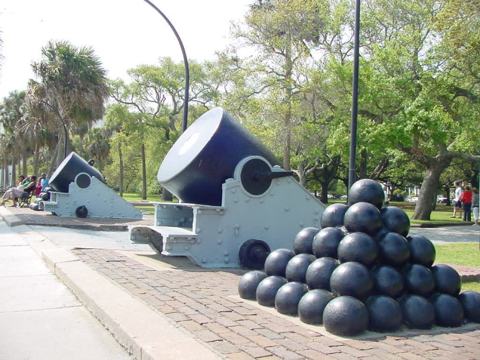 2) The Battery in Charleston, SC: A place so chock full of history that a day is just not enough.