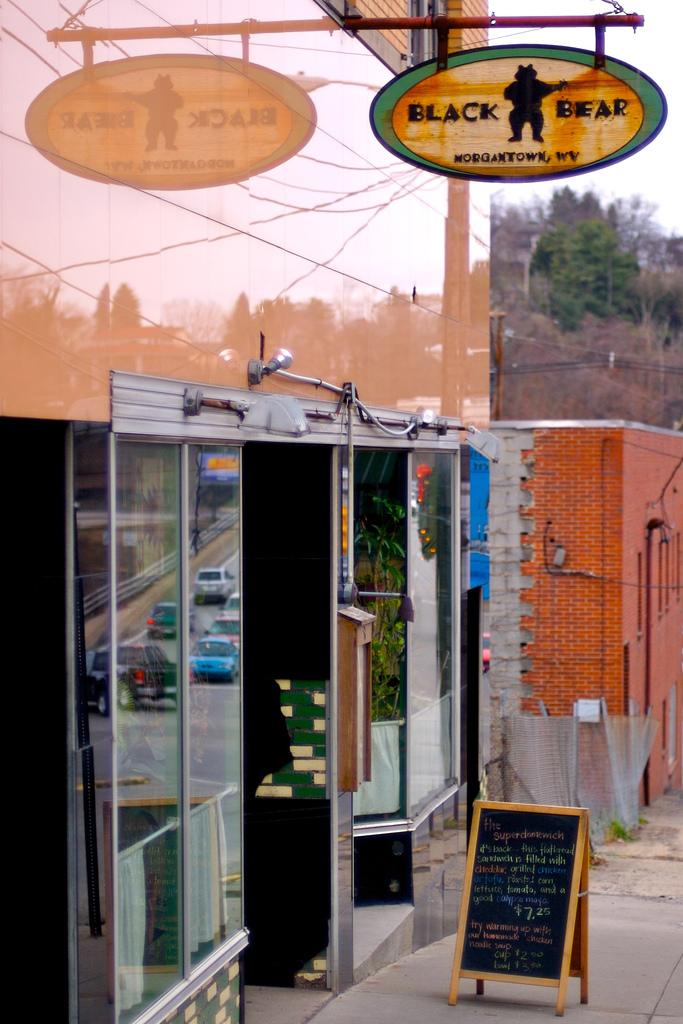 17) Black Bear Burritos in Morgantown, WV.
